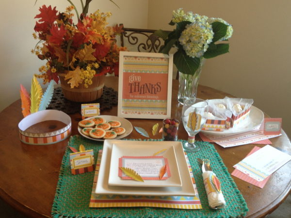 Unknown Blessings Table Setting