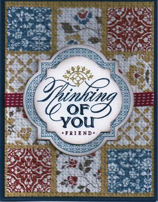 Comfort Cafe Postage Stamp Quilt