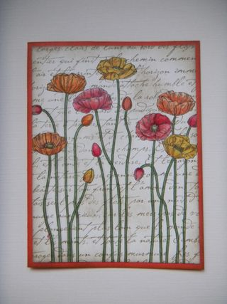 Pleasant Poppies, Stampin' Up!