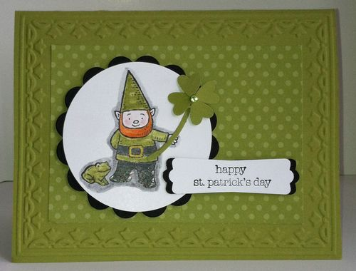 Stampin' Up! Gnome Sweet Gnome St. Patrick's Day