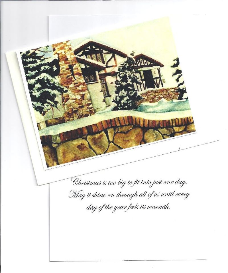 Thatchcot Christmas Card