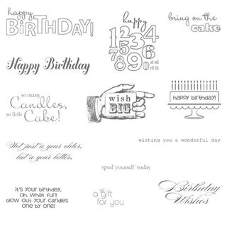 Bring on the Cake Stamp Set