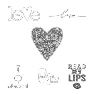 Stampin' Up! Best of 25 Years, February, Best of Love
