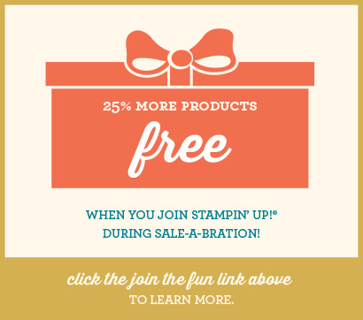 SAB 2013 Join Stampin Up Promotion